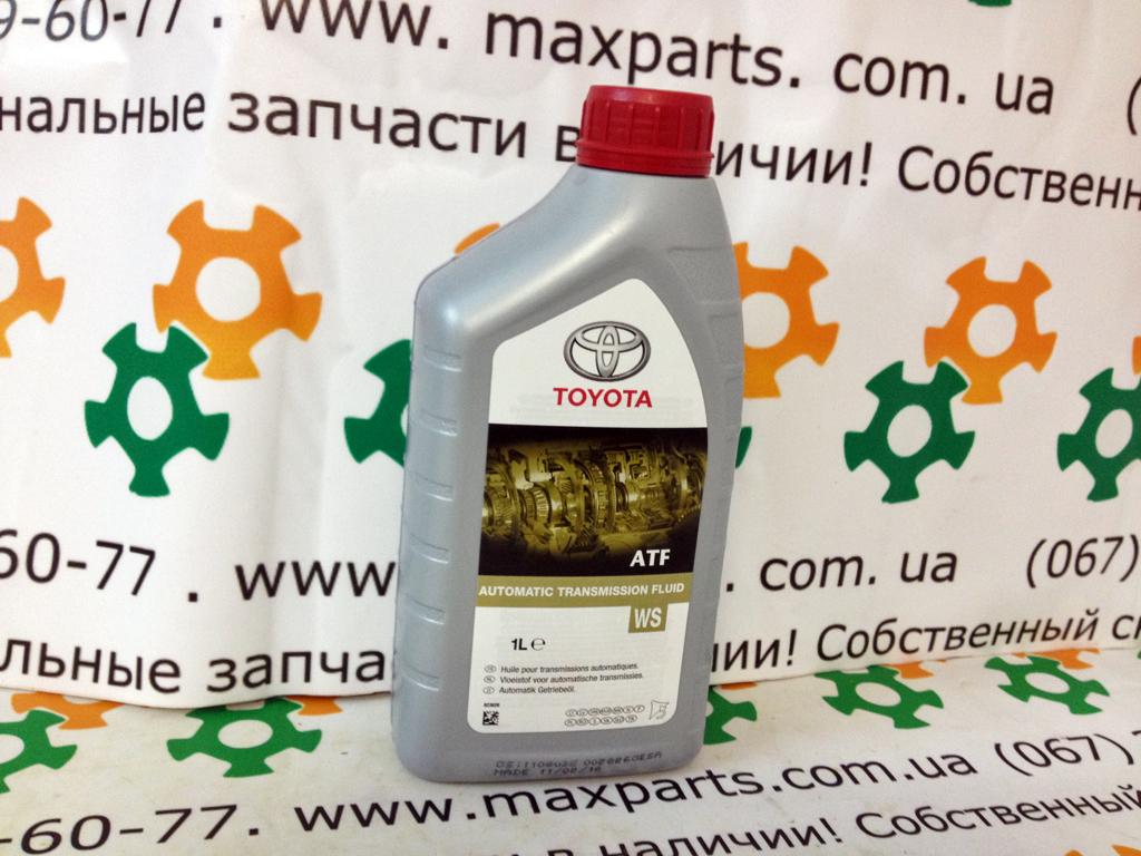 0888681210 08886-81210 Масло ATF WS Japan 1л для автоматической коробки передач Toyota Lexus оригинал