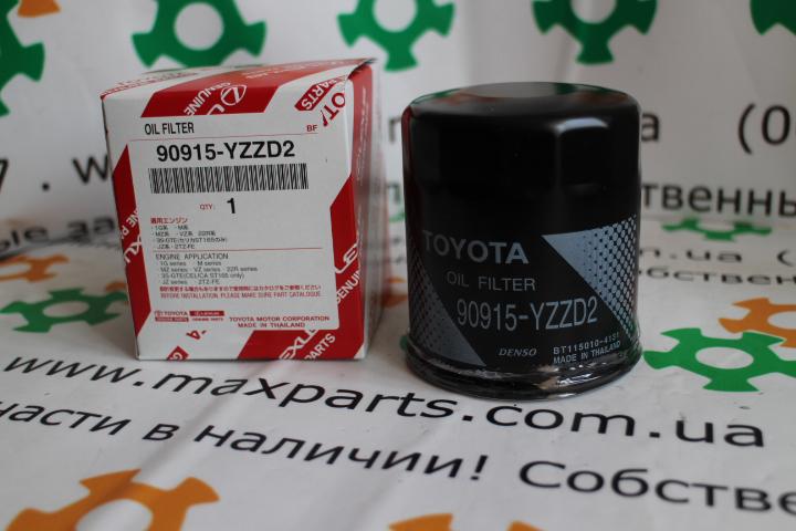 9091520003 90915-20003 90915YZZD2 90915-YZZD2 90915YZZJ3 90915-YZZJ3 Оригинал, фильтр масляный двигателя Toyota   Lexus