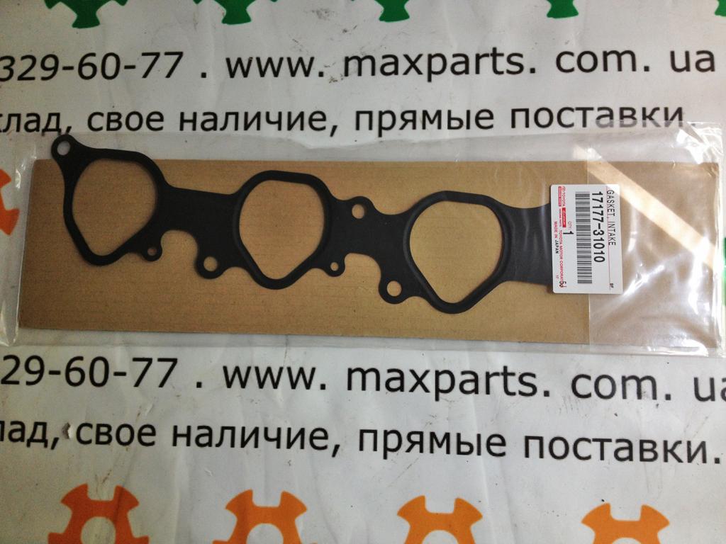 1717731010; 17177-31010; 17177AD010; 17177-AD010 Оригинал, прокладка впускного коллектора 4,0 Toyota Prado 120 Hilux FJ Cruiser
