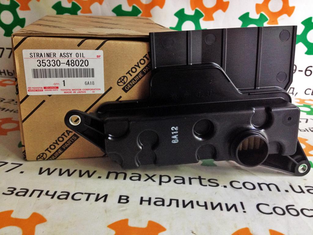 Фото 2 - 3533048020 35330-48020 3533033050 35330-33050 Оригинал фильтр коробки передач АКП Toyota Avalon Avensis Camry Rav4 Venza Lexus ES RX NX