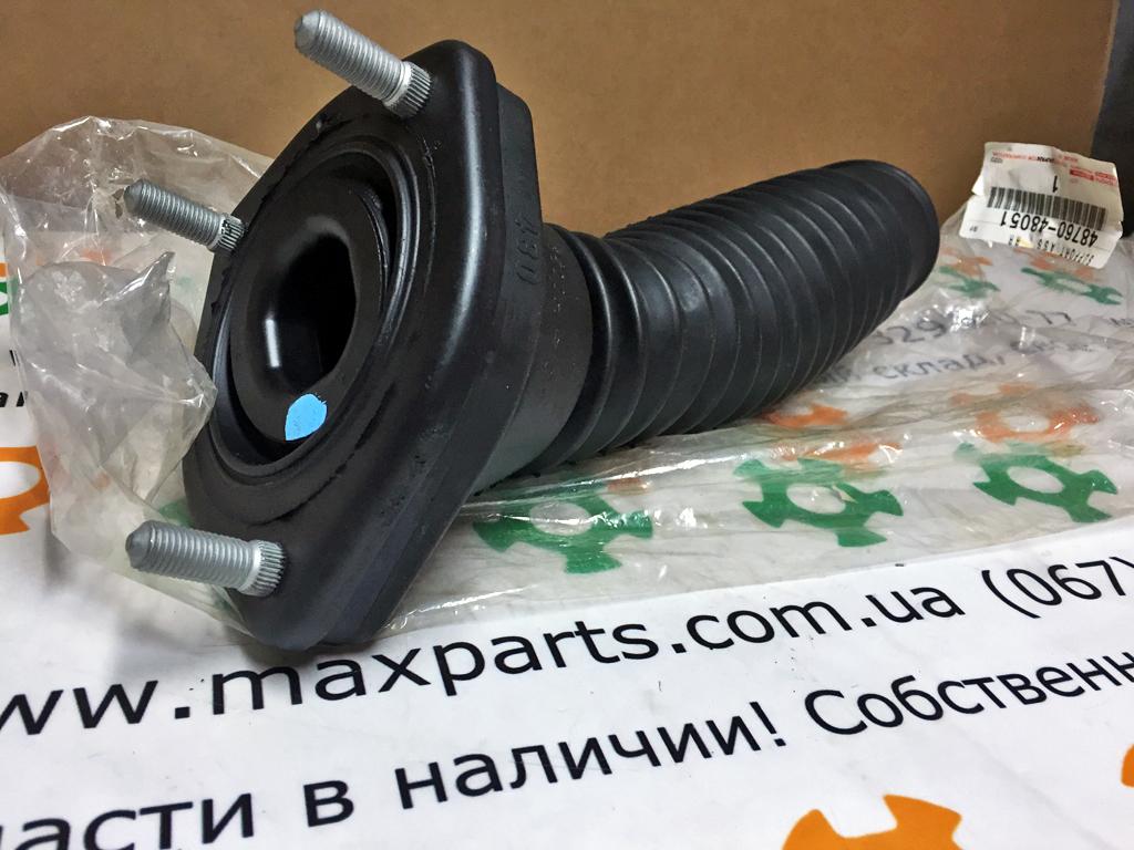 4876048051 48760-48051 Оригинал опора пыльник заднего амортизатора левая Toyota Highlander