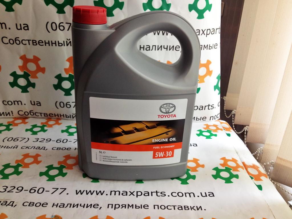 0888080845 08880-80845 Оригинал масло моторное Toyota 5w30 Европа 5L