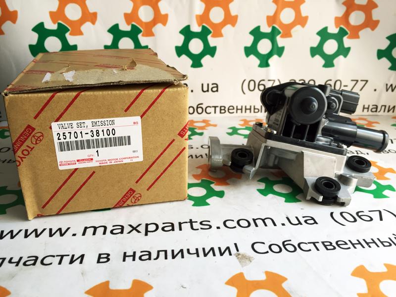 2570138100 25701-38100 Оригинал, клапан правый рециркуляции EGR отработанных газов Toyota Prado 150 Lexus GX 460