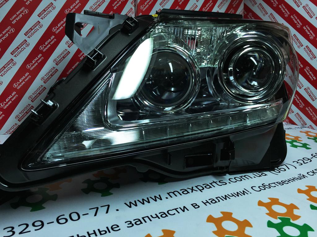 Фото 2 - 8118560F80 81185-60F80 Оригинал блок фара передняя левая Lexus LX 570 USA рестайлинг