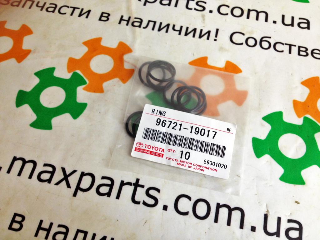 9672119017 96721-19017 Оригинал кольцо уплотнительное форсунки Toyota Land Cruiser 200 Hilux Diesel