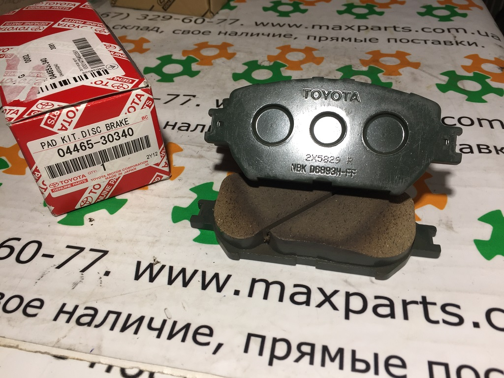 0446530340 04465-30340 Оригинал колодки тормозные передние комплект Lexus GS IS